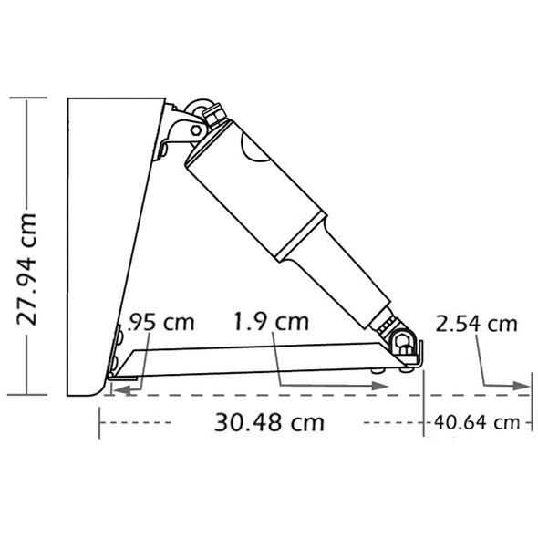 Kit flap elettrici Lenco Edge Mount barca 5-6,5 mt