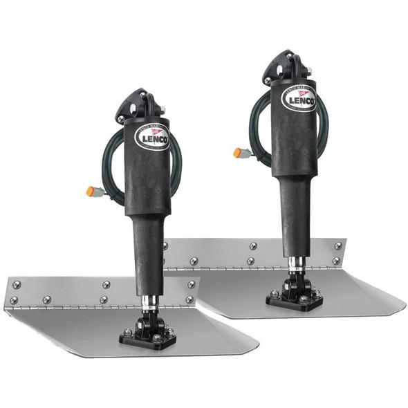 Kit flap elettrici Lenco Standard Mount barca 5-7,5 mt