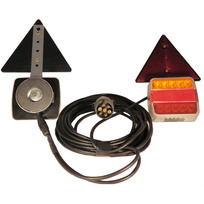 Kit luci a LED posizione - stop - freccia - luce targa