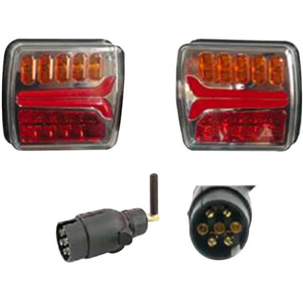 Kit luci LED senza fili - alimentazione a batteria