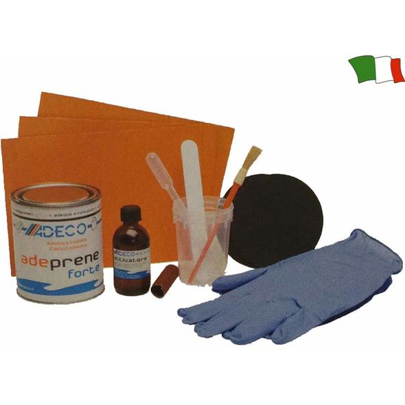 Kit riparazione per battelli in Neoprene Arancio