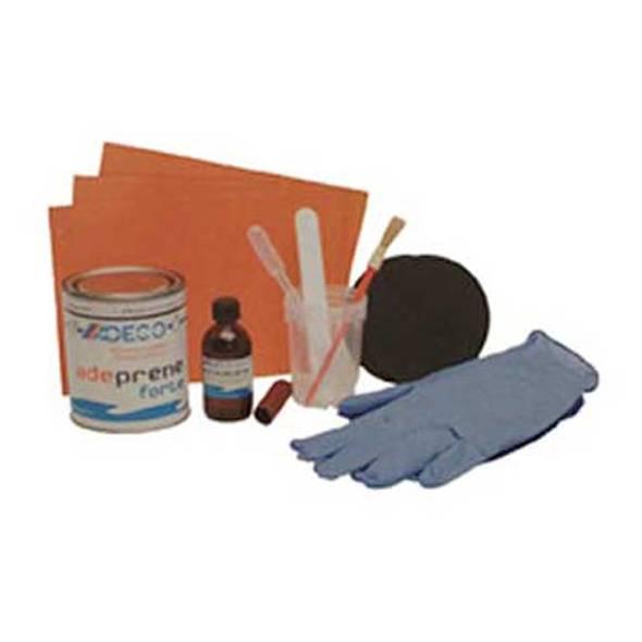 Kit riparazione per battelli in PVC Arancio