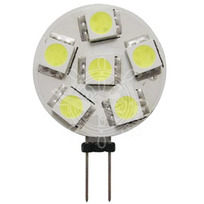 Lampadina 6 LED SMD attacco laterale