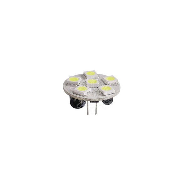 Lampadina 6 LED SMD attacco posteriore