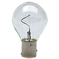 Lampadina a filamento verticale BAY15D
