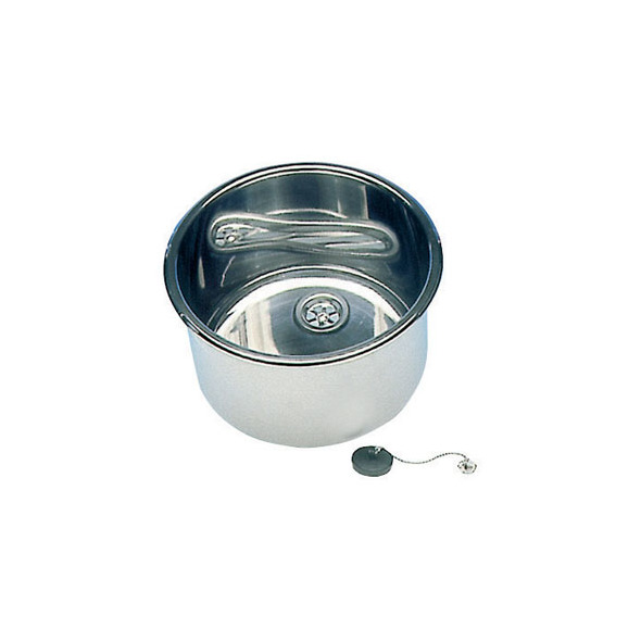 Lavello Inox Cilindrico D. 285
