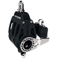 Lewmar Control Bozzello Singolo con arricavo + strozzatore D. 60 mm