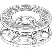 Lewmar Kit Barbotin VX2/3 8 mm
