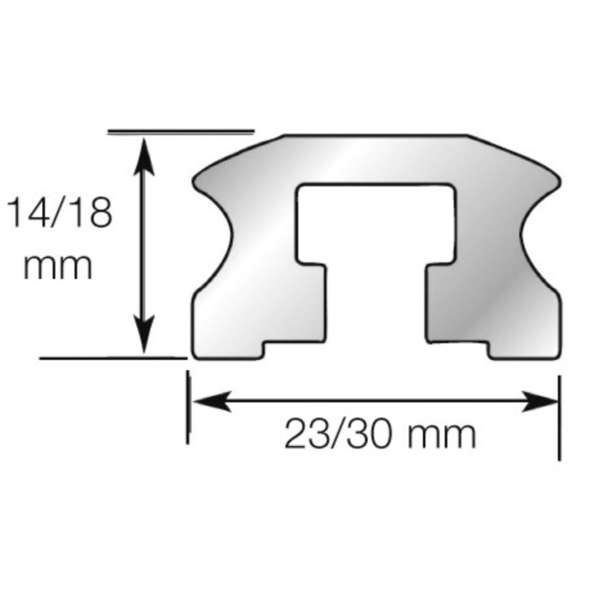 Lewmar Rotaia con bulloni misura 1