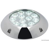 Luce 12 LED subacquea tonda