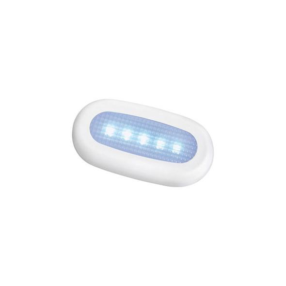 Luce cortesia stagna 5 LED Blu