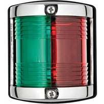 """Luce di via """"Utility85"""" inox combinato rosso/verde"""