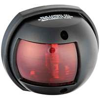 Luce di via Compact 12 laterale rosso 112,5 Cassa nera