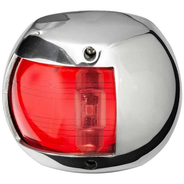 Luce di via Inox LED Sphera Design sinistra