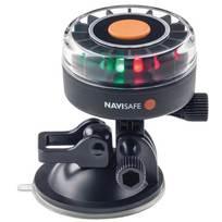 Luce di via NAVISAFE Navilight tricolore - Base a Ventosa