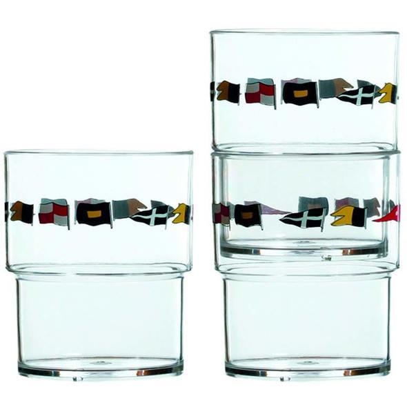 MB Regata Set Bicchieri Impilabili 12 pz.