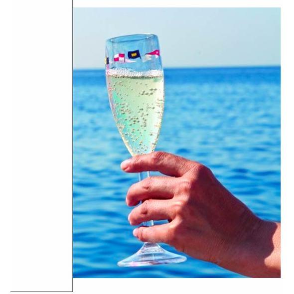 MB Regata Set Calici Champagne 6 pz.
