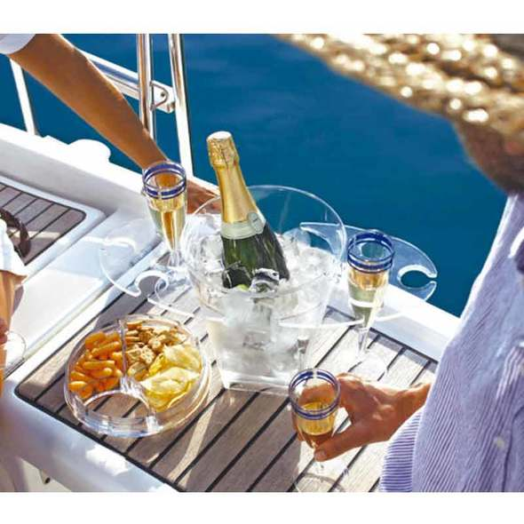 MB Secchiello Champagne con Portabicchieri