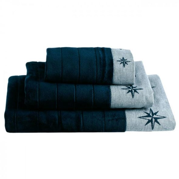 MB Set 3 Asciugamani Blue Navy