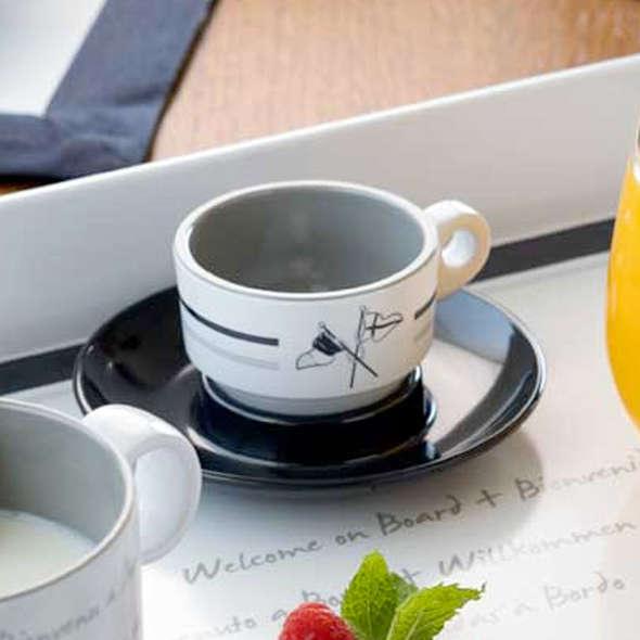 MB Welcome Set Tazzine da Caffè + Piattino 6 pz.