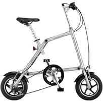 Nanoo Bici pieghevole FB 12 - Alluminio spazzolato
