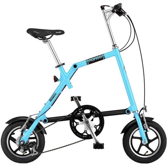 Nanoo Bici pieghevole FB 12 - Azzurro