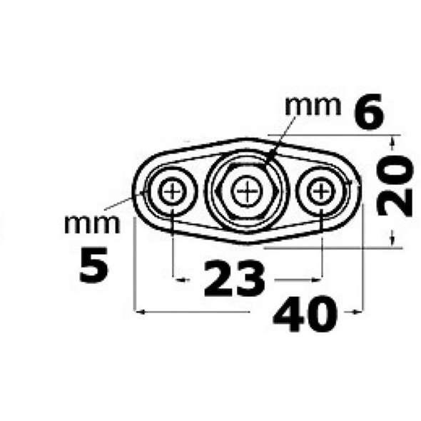 Nodi di derivazione cavi elettrici Power Post mod.A