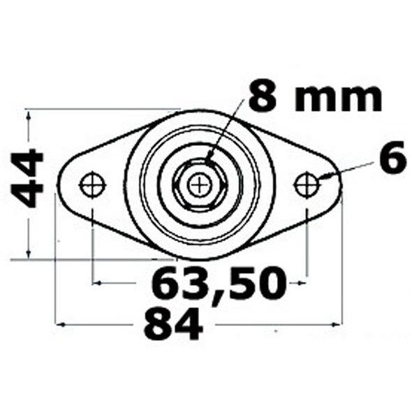 Nodi di derivazione cavi elettrici Power Post mod.B