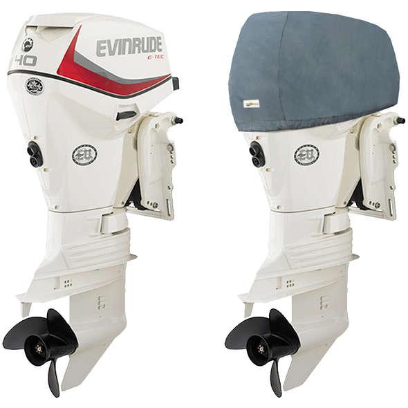 Oceansouth Coprimotore fuoribordo Evinrude 40/60 HP