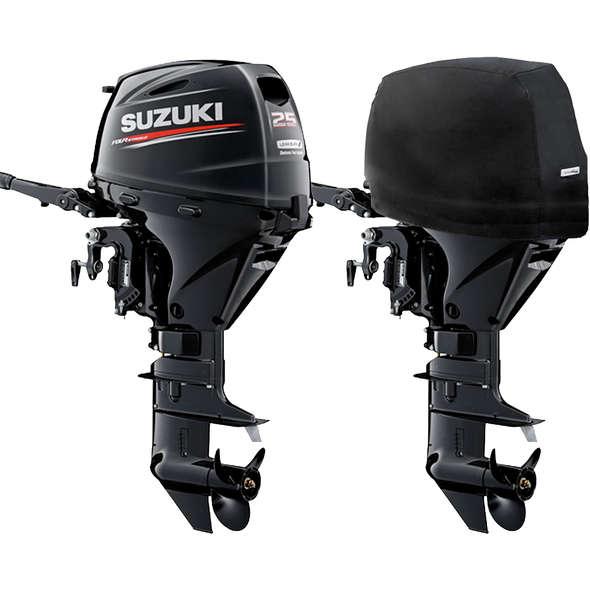 Oceansouth Coprimotore per fuoribordo Suzuki 25/30 HP