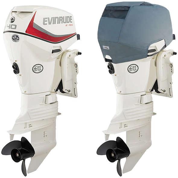 Oceansouth Coprimotore Ventilato Evinrude 40/60 HP