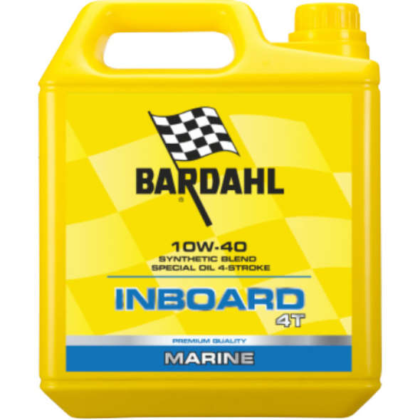 Olio Bardahl Inboard 4T 10W40 - 5lt