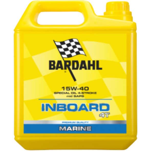 Olio Bardahl Inboard 4T 15W40 - 5lt