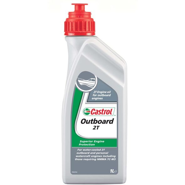 Olio Castrol Outboard 2T lt.1