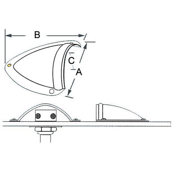 Orecchietta Inox per Protezione Scarichi - Grande