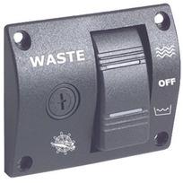 Pannello controllo valvola Waste 12 / 24 V.