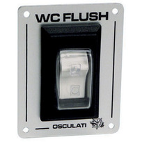 "Pannello Interruttore ""W.C. Flush"" 12 / 24 V."