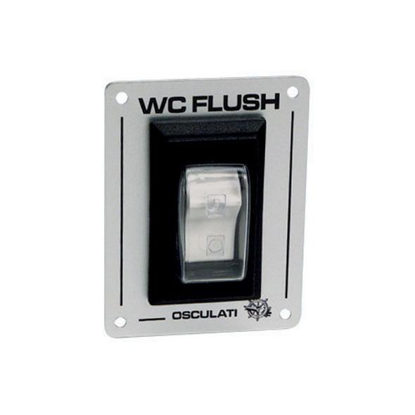 Pannello Interruttore W.C. Flush 12 / 24 V.