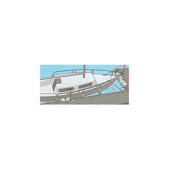 Parabordo Bumper Pvc 270x270x885