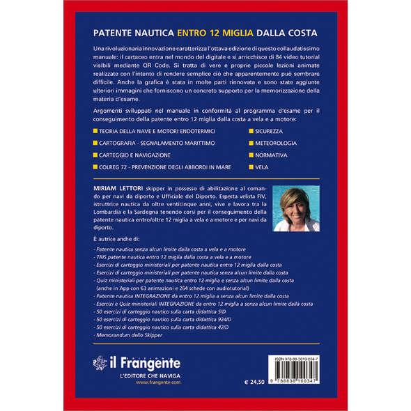 Patente Nautica Entro 12 Miglia dalla Costa- VIII° Edizione