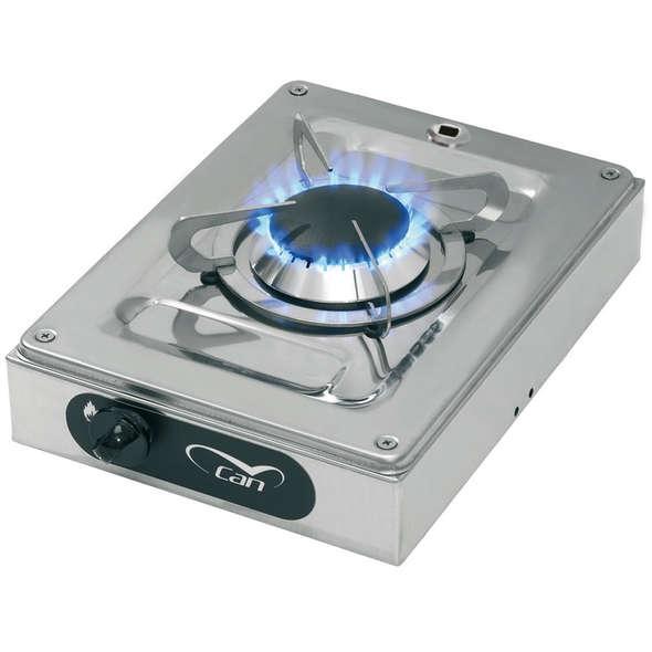 Piano cottura inox esterno 1 fuoco Can