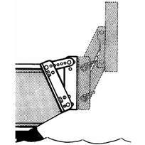 Piastra di fissaggio per portamotori