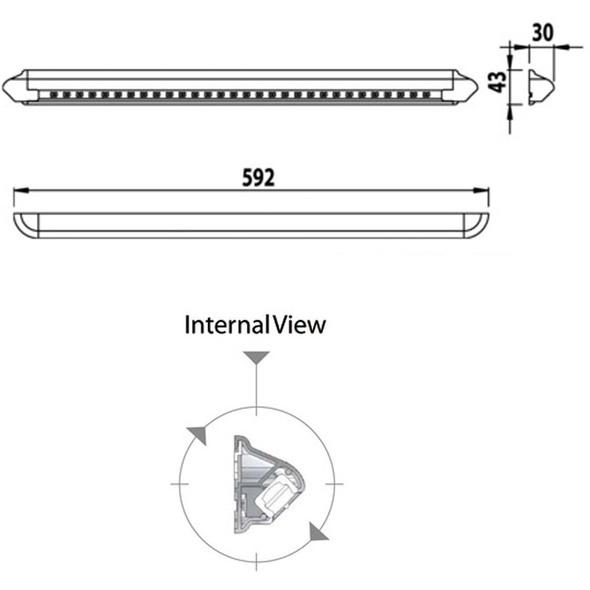 Plafoniera LED Lab Craft 12V