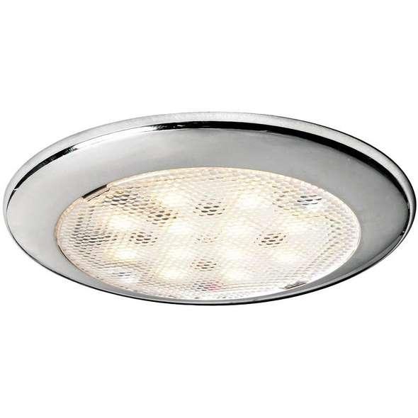 Plafoniera LED Procion inox senza interruttore