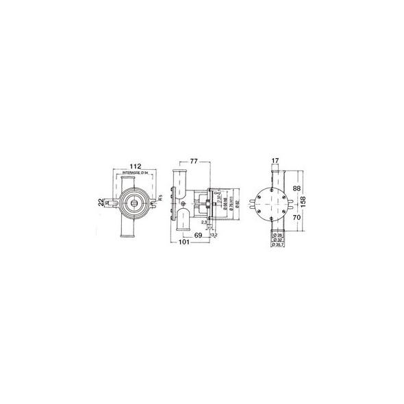 Pompa Nauco Mod. ST160/161