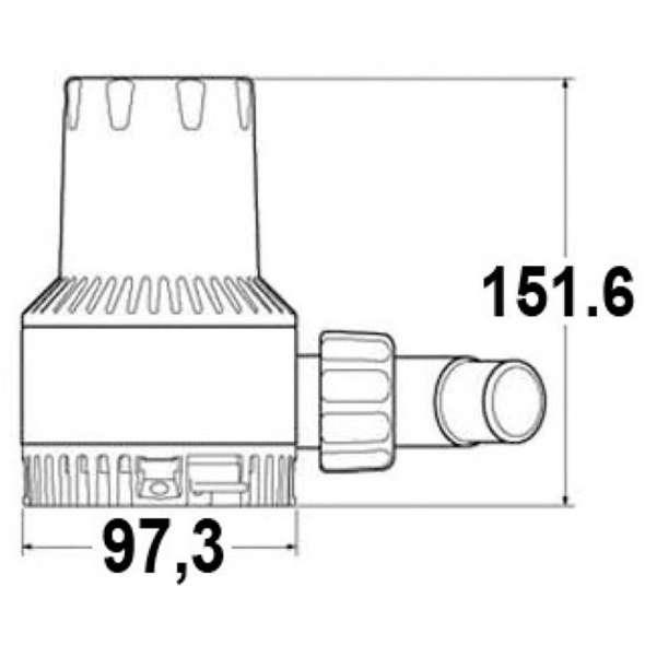 Pompa sentina Attwood Heavy Duty 1700 12V