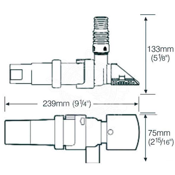 Pompa Whale Supersub Smart 1100 24V