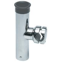 Portacanna Inox orientabile per tubolari mm 30/35
