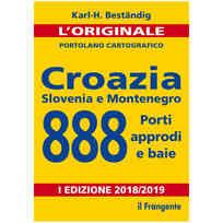 Portolano 888 Croazia Slovenia e Montenegro