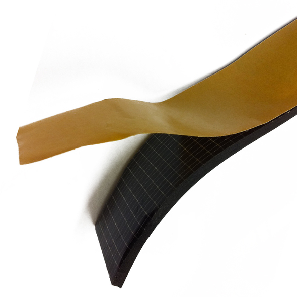 Profilo Adesivo Isolante in Epdm mm.   6x3